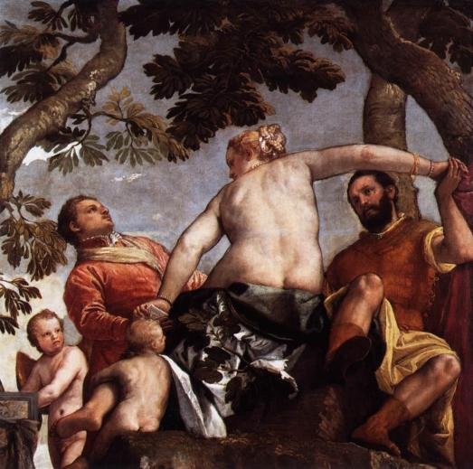 Paolo Veronese; Allegory of Love; Infidelity.